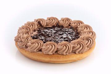 Afbeeldingen van Chocolade vlaai  korstbodem