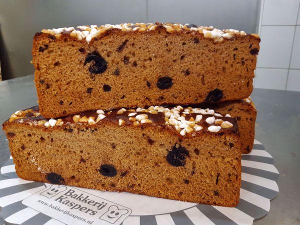 Afbeelding van Ontbijtkoek amarena/cranberry